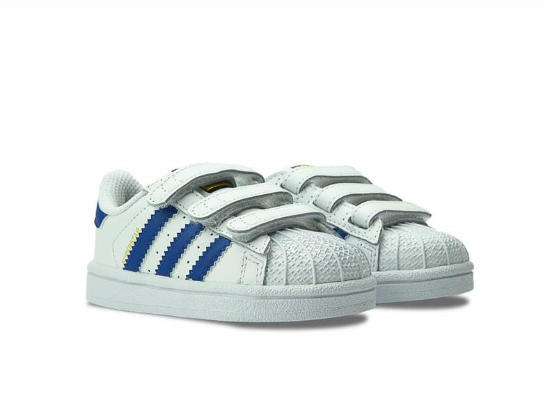 Superstar Foundation CF I White/Blue S74946