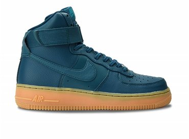 Nike Air Force Hi SE Midnight Turquoise/Gum 860544 300