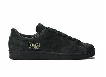 Superstar 80s Clean Black/Black/Gold S32026