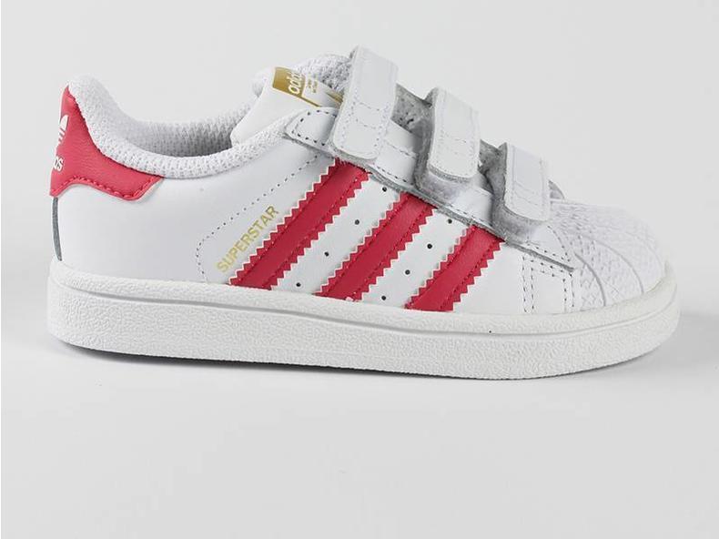 Superstar Foundation CF I White/Pink B23639