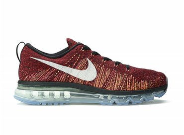 Nike Flyknit Air Max Black/Summit White-Team Red 620469 011