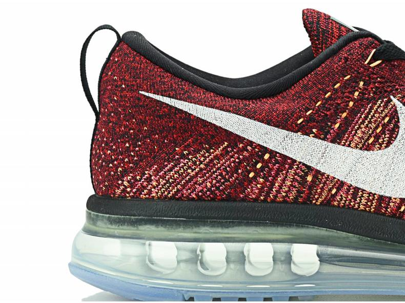 Flyknit Air Max Black/Summit White-Team Red 620469 011