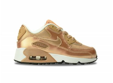 Nike Air Max 90 SE Leather PS Metalic Red/Bronze 859562 900
