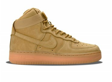 Nike Air Force 1 High LV8 GS Flax/Flax/Outdoor Green 807617 200