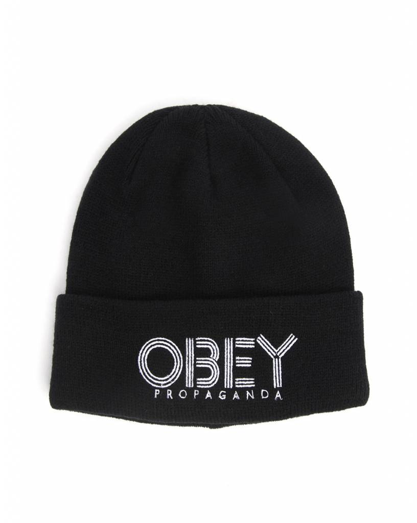 Obey Freestyle Beanie Black