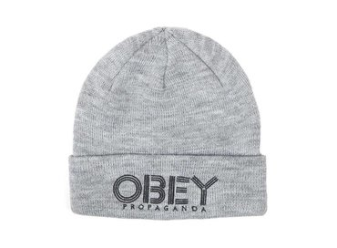 Obey Freestyle Beanie Grey