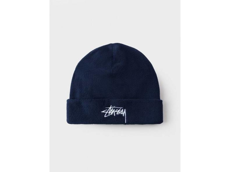 Polar Fleece Beanie Navy