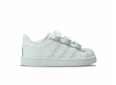 Superstar Foundation CF I White/White B25725