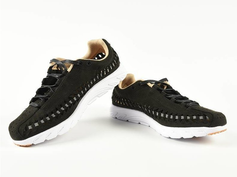 Wmns Mayfly Woven Black/Dark Grey-White 833802-002