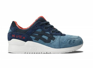 """Gel Lyte III """"Christmas Pack"""" Blue Mirage/India Ink H6X4L 4650"""