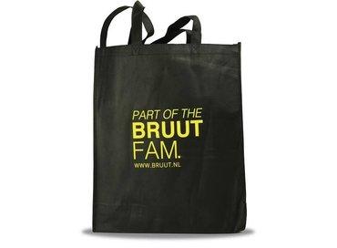 Bruut Totebag Black/Yellow