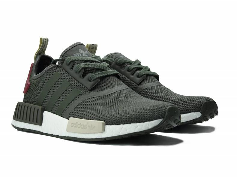 online store 03b52 d7bb4 Adidas NMD R1 Glitch Camo Core Black Solid Grey BB2884 Size 8