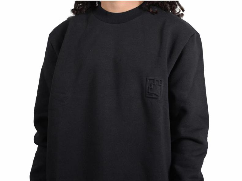 Stamp Sweater Black