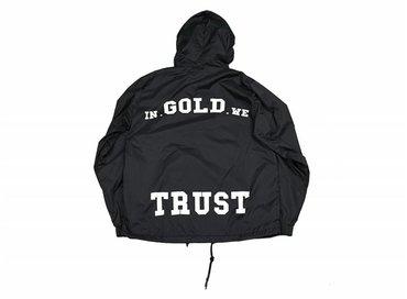 In Gold We Trust Windbreaker Black