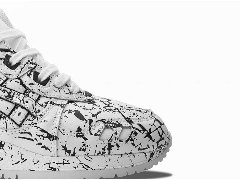 "Gel Lyte III White/White ""Marble Pack H627L 0101"