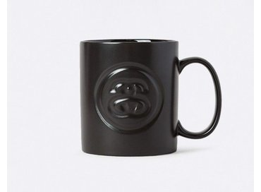 SS-Link Debossed Mug Black 138549/0001