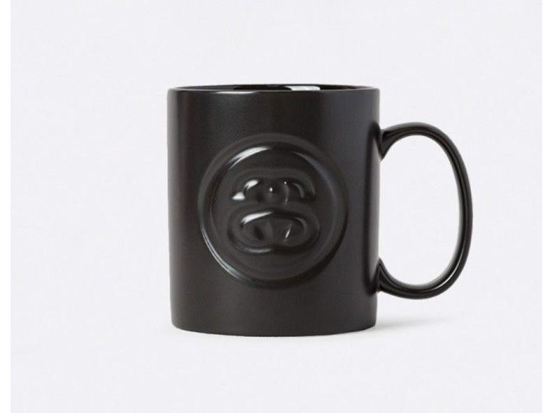 SS-Link Debossed Mug Black 138549/0001