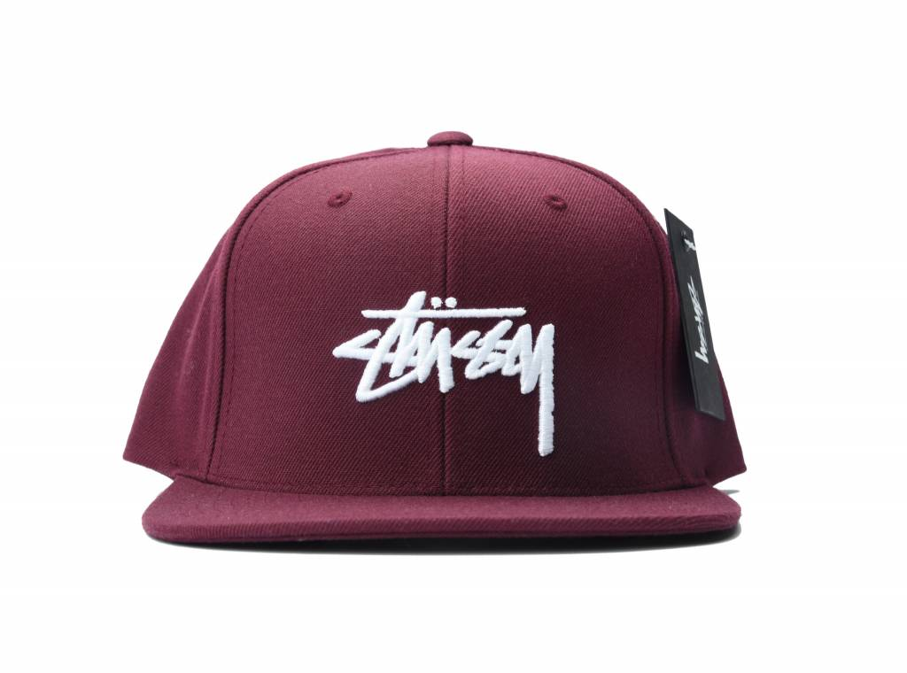 Stock FA16 Cap Burgundy