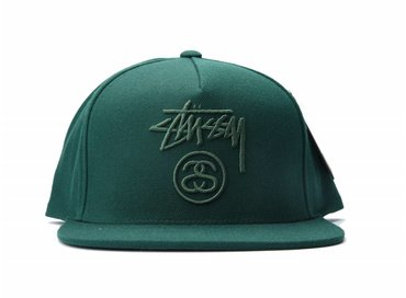 Stussy Stock Lock FA16 Cap Dark Green
