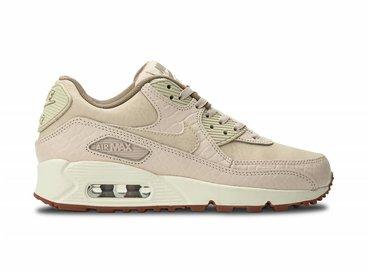 Nike WMNS Air Max 90 Prem Oatmeal/Sail-Khaki 443817 105