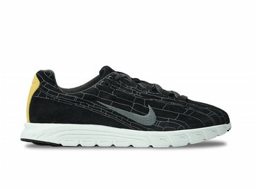 Nike Mayfly Leather PRM Black/Black/Grey 8110548 100