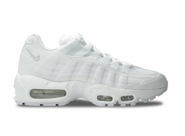 Nike WMNS Air Max 95 White/White-Pure Platinum 307960 104