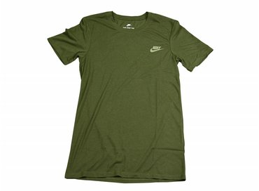 Nike NSW Tee Crackle Print Legion Green 834735 331