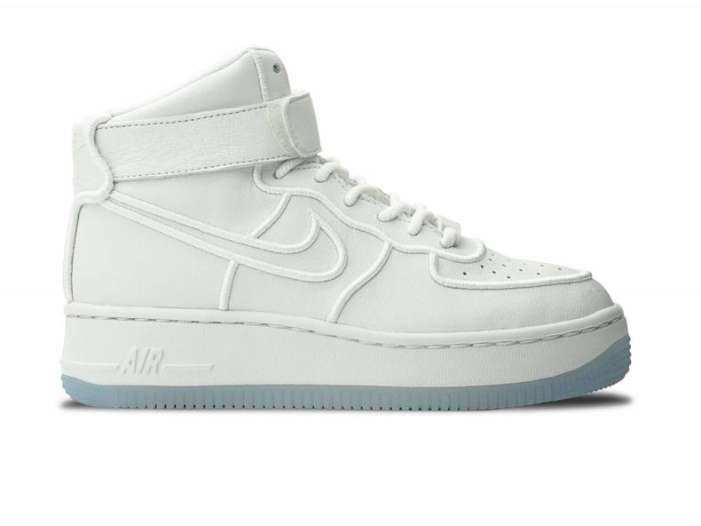 WMNS Air Force 1 Upstep Hi Si Summit white/Summit White 881096 100