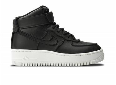 Nike WMNS Air Force 1 Upstep Hi Si Black/Black ivory 881096 001