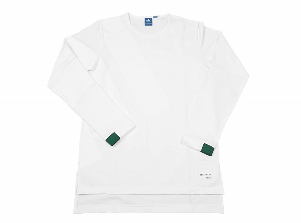 EQT Adv ls tee White Blanc BK2183