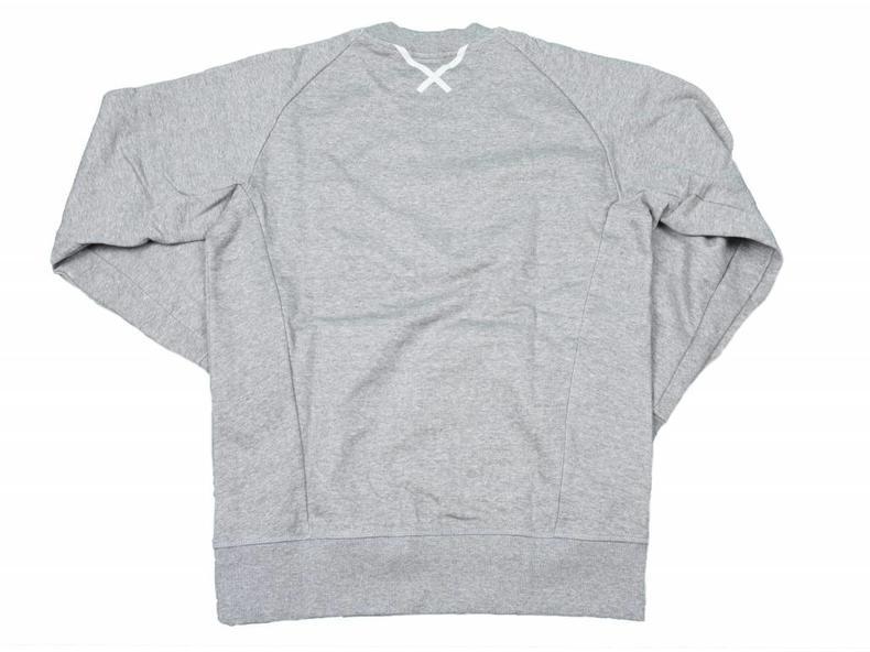 XbyO Crew Sweatshirt Medium Grey Heather BQ3079