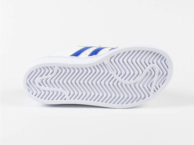 Superstar Foundation CF C White/Blue S74945