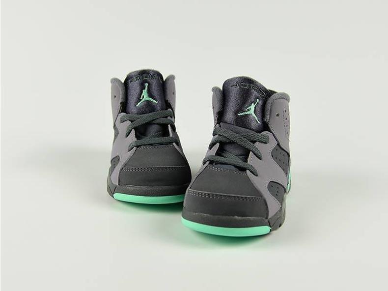 Jordan 6 Retro GT Cement Grey/Green Glow-Dark Grey-Green 645127 005