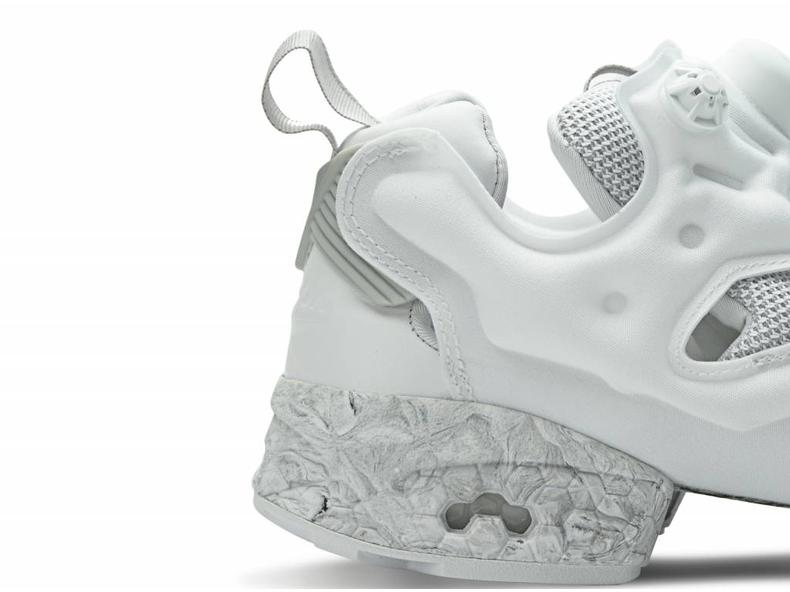 Instapump Fury White/Solid Grey BS1550