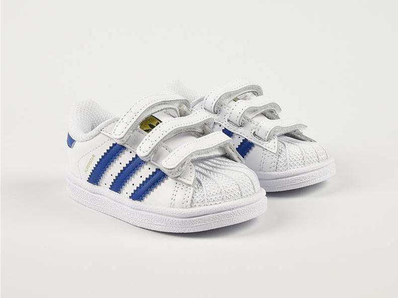 Superstar Foundation CF I White/Blue S74946