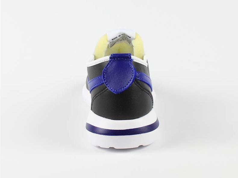 Roshe Cortez NM Leather Black/Royal Blue 826332 004