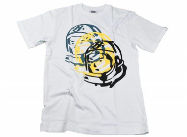 Billionaire Boys Club Multi Helmet Tee White B16476