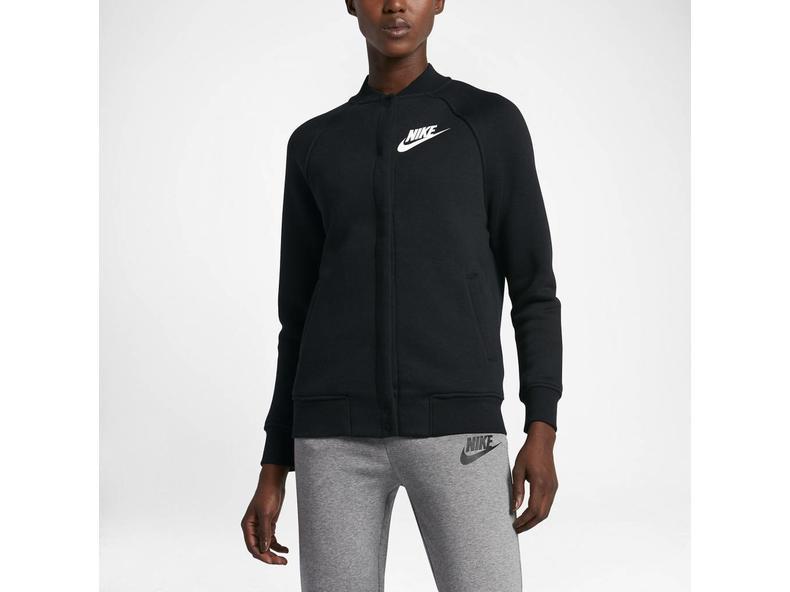 giacca nera della nike / bianco 831735 010 bruut negozio online