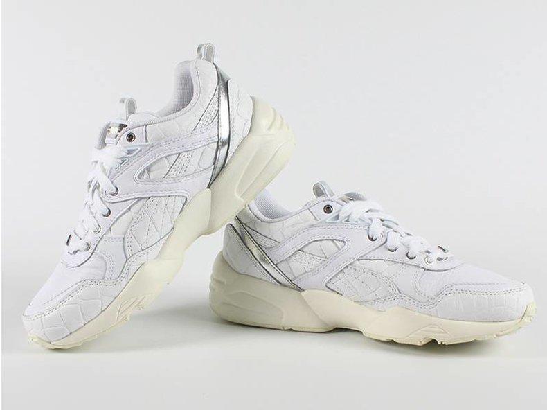 R698 Exotic Wn's White/Silver Metallic 360909 02
