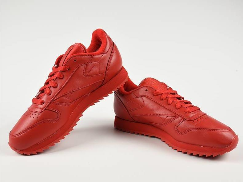 Classic Leather Ripple Mono Scarlet AR2349