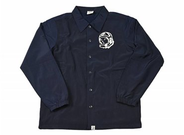 Billionaire Boys Club Classic Logo Coach Jacket Navy B16508