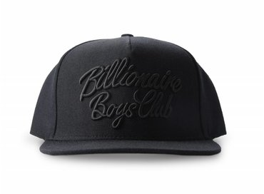 Billionaire Boys Club Script Logo Snapback Black B16529