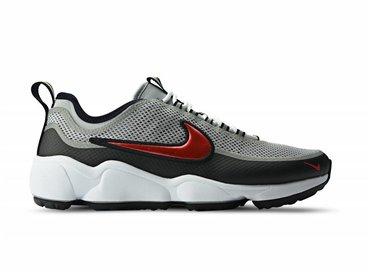 Nike Air Zoom Spiridon Ultra Metallic Silver Desert Red 876267 001