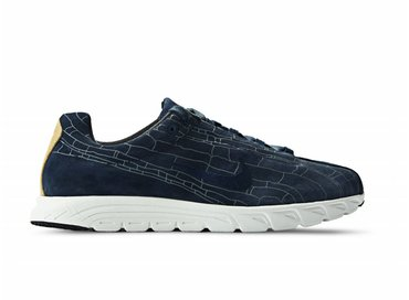 Nike Mayfly Leather PRM Obsidian/Obsidian 816548 400