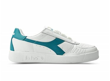 Diadora B.Elite White/Harbor Blue C6648