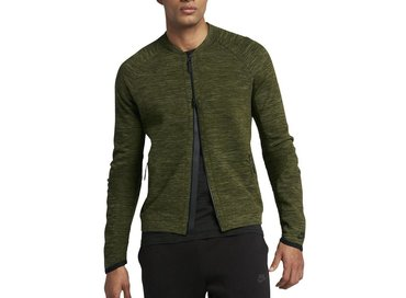 Nike Tech Knit Jacket Legion Green Black 832178 331