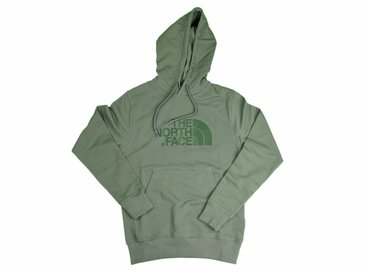 The North Face Lights Drew Peak Pullover Hoodie Thyme T0A0TENYC