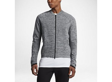 Nike Sportwear Tech knit Jacket Carbon Heather/Black/Cool Grey/Black 832178
