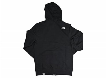 The North Face Open Gate FZ Zip Hoodie Light Black T0CEP7JK3