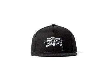 Stussy Outline Cap Black